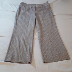 Pants - I.E. Dress Pants Gray Pinstripe Size 14